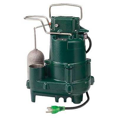 Zoeller M95 - 1/2 HP Premium Cast Iron Submersible Sump Pump w/ Vertical Floa...