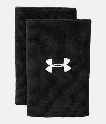 "Under Armour UA Performance 6"" Unisex Wristbands Sweatbands All Sport 2-Pack"