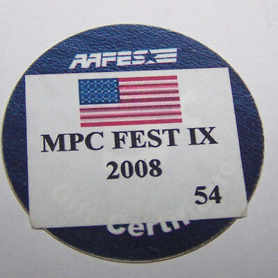 7D5 Fighter Pilot from MPC with Stamp 5 Cents AAFES Pogs Extra Fine Condition