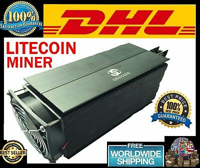LITECOIN MINING Machine MINER 5.2-6MH/S 100W Scrypt Gridseed Blade USED