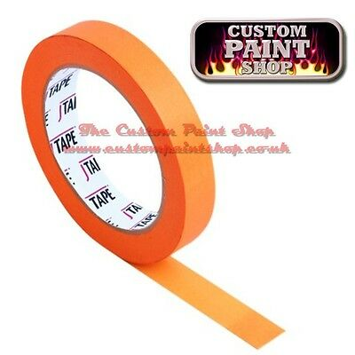 6mm Orange Flatline Masking Tape, Custom Paint Work, helmets, tank, airbrush