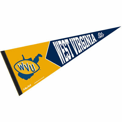 West Virginia University Vault, Retro and Vintage Logo Pennant