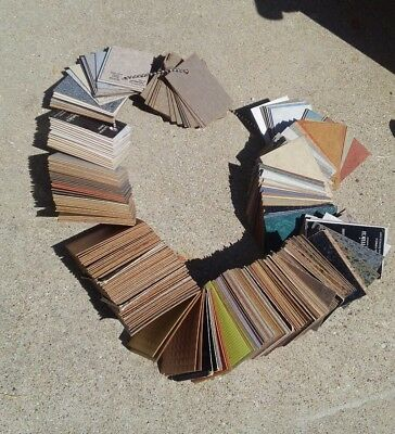 Vintage Lot of 100 plus Counter Top Laminate Samples by Formica and Dura Beauty