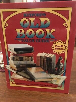 Huxford's Old Book Value Guide by Sharon Huxford (1992, Hardcover)