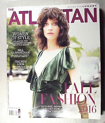 ATLANTIAN Magazine Sept 2016 Fall Fashion Issue 228 pages