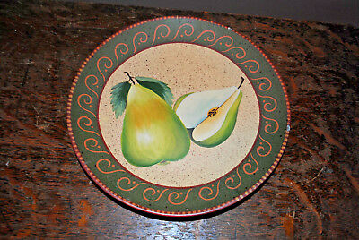 Home Interiors Pear Decorative Fruit Plate