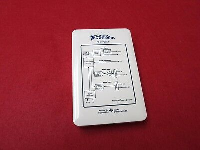 National Instruments NI myDAQ 195509F 01L Powered by LabView
