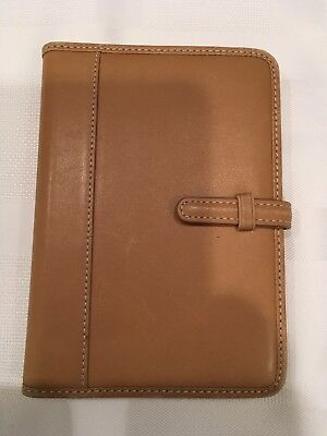 Coach All Leather Wallet Sized Photo Album - From Coach Store - Great Condition!