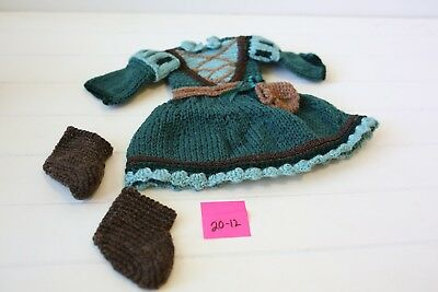 Baby's Crochet Merida Outfit