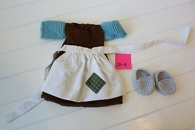 Baby's Crochet Cinderella Apron Dress Outfit
