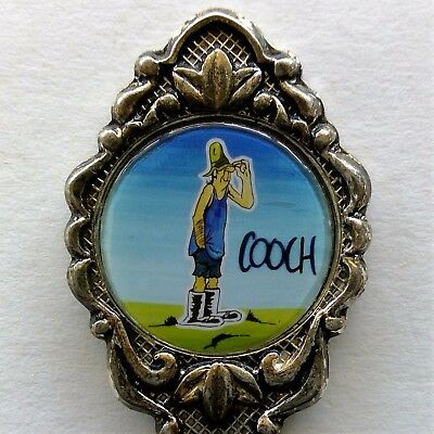 Footrot Flats Coach Souvenir Spoon Teaspoon (T57)