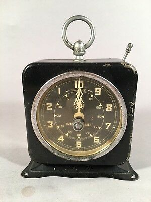 Vintage General Electric X-Ray Corp Interval Dark Room Timer, Working Condition