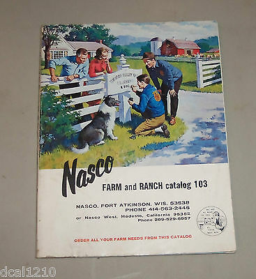 Vintage Nasco Farm Catalog 1960'S Rodeo Livestock Fairs Farm Supplies...