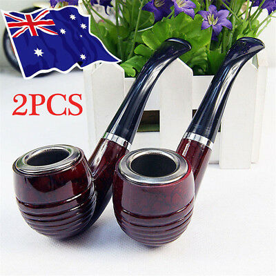 2PCS New Durable Enchase Smoking Pipe Tobacco Cigarettes Filter Pipes Gift Hot