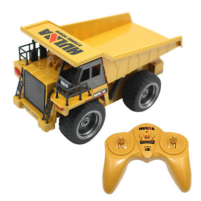 1:18 2.4G 6CH Functional Dump Truck toy Car Vehicle Electric RC Remote Control