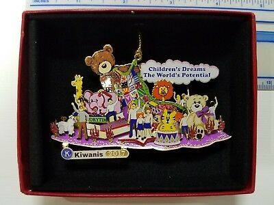 Kiwanis 2017 Rose Float ornament- Limited Collector's edition
