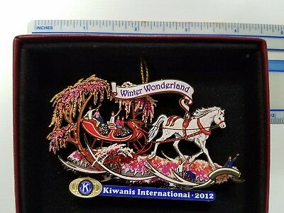 Kiwanis 2012 Rose Float ornament- Limited Collector's edition