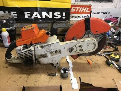 Stihl TS760 AV Concrete Saw / Demo Saw / Gas Powered Cut Off Saw 14""