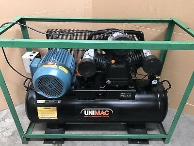 Industrial Air Compressor 150L Receiver 3 Phase 415v Electric Motor