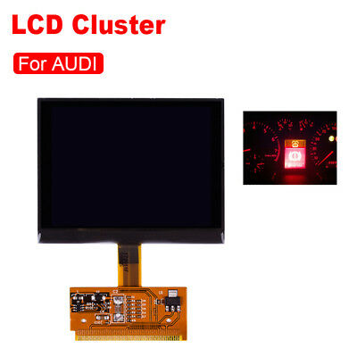 New LCD For Audi A3 A4 A6 Durable Replacement Cluster Speedometer Display Screen
