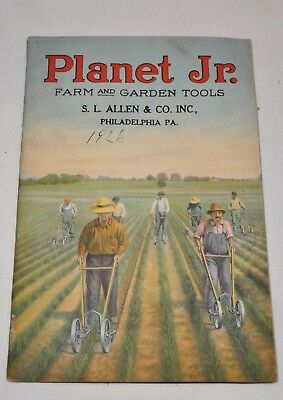 Plant Jr. Farm and Garden Tools booklet 1926