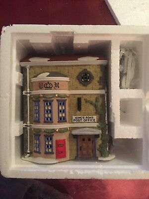 Dept 56 Dickens Village King's Road Post Office #58017  DV EXCELLENT  CONDITION