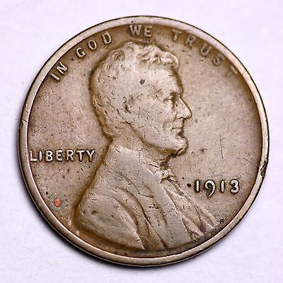 1913 Lincoln Wheat Cent Penny LOWEST PRICES ON THE BAY!  FREE SHIPPING!