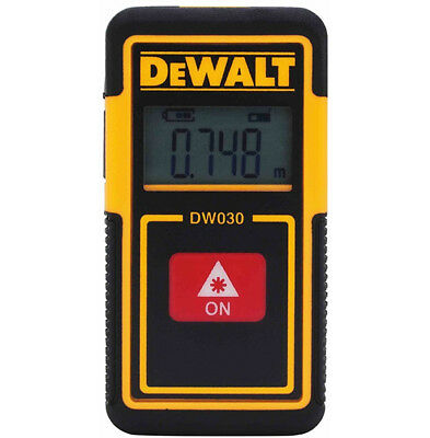 DeWALT DW030PL 30-Foot Laser Distance Measurer Free Shipping!