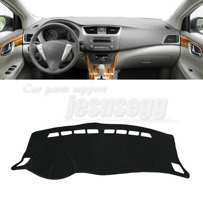 Interior Dashboard Cover Mat Sun Visor Cover Pad LHD For 2009-13 ToyotaCorolla