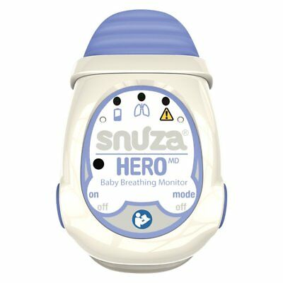 Snuza Hero MD Portable Baby Breathing Monitor Wireless Respiration Monitor New