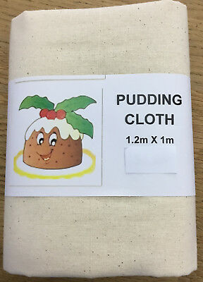 Pudding cloth- 100% cotton, top quality calico- 120cm x 100cm with free postage