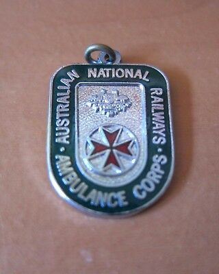 Australian National Railways Ambulance Corps Badge Excellent
