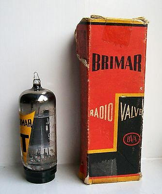 G2100 Vacuum Tube Radio Valve New Old Stock In Original Box Cleaned And Tested