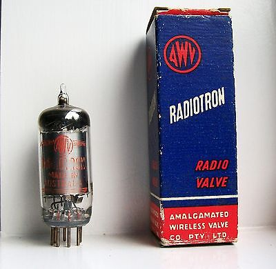 1U4 Vacuum Tube Radio TV Valve New Old Stock In Original Box Cleaned And Tested