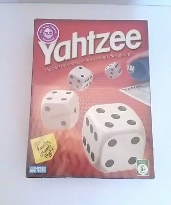 Yahtzee Game The Classic Shake Score And Shout Dice New Sealed in box Hasbro