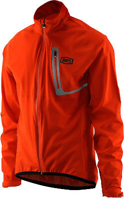 100% Hydromatic Rain Jacket Orange 2018