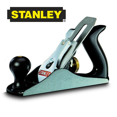 Stanley 245 x 50mm No.4 Bailey Bench Smoothing Plane with Knob Handle 112004