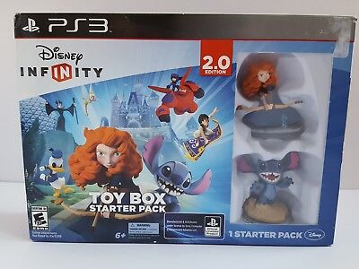Disney Infinity Toy Box Starter Pack 2.0, Video Game for Sony PlayStation PS3