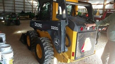 2011 John Deere 320D Skid Steer Loader