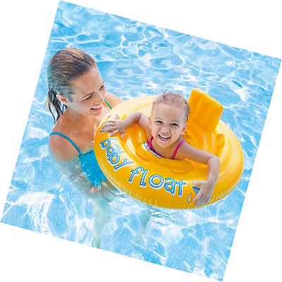 Baby Kids Floater Swimming Pool Diaper Style Seat Inflatable Ring Sturdy Safe