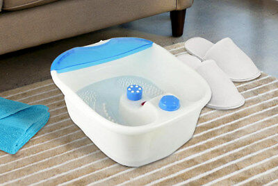 Infrared Vibrating Foot Spa Massage Therapy Foot Bath Bubble Vibration Feet