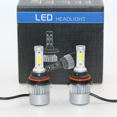 9004 HB1 72W 8000LM Car LED Headlight Bulbs Lamps COB High Low Beam 6000K S2