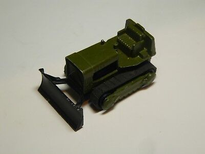 Matchbox Lesney Superfast era - Case Bulldozer. Twin pack Issue TP16 Olive