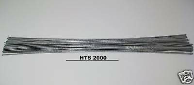 "10 pc - 18"" Aluminum Repair Brazing Rods HTS-2000 Low Temp Fluxless  w/ Instruct"