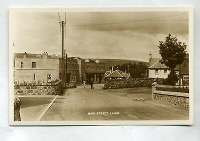 LAIRG  Main Street  with shops and people  RP