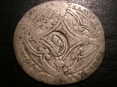 ++ 1615 Recoined Dutch Patard Netherlands Countermaked Lis French Colonies ~