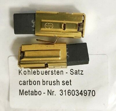 METABO CARBON BRUSHES for UHE 28 Multi Hammer BE1020 SBE1010 Plus SBE1010 M27A