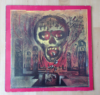 Slayer - Seasons in the abyss  - LP - Def American  846871-1 (1990) . OIS