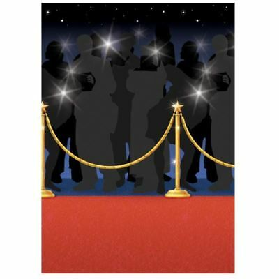 40ft Red Carpet Room Roll Scene Setter Hollywood Party Wall Decoration Prom