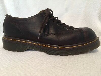 Dr. Martens The Original Brown Leather Oxford Shoes UK 6 US Womens 8 England